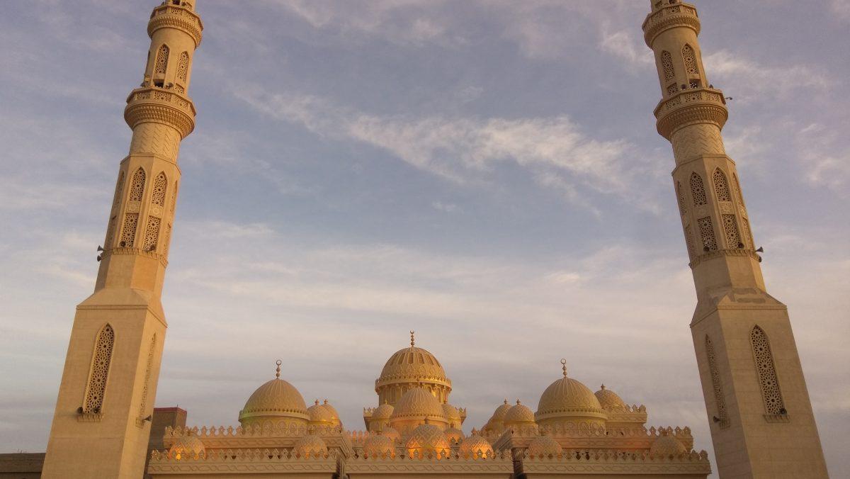 El Mina mosque in Hurghada