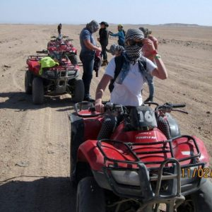 Trzy godziny Moto Safari w Hurghadzie