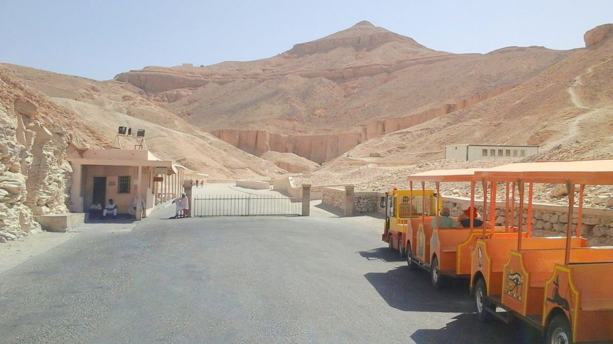 Excursion dans la vallée des rois d'Hurghada