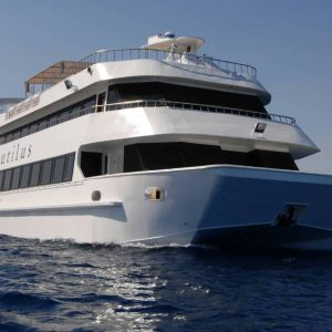 Voyage en mer en semi-sous-marin à Hurghada