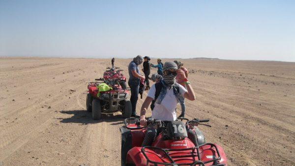 Dreistündige Moto Safari Sharm El Sheikh