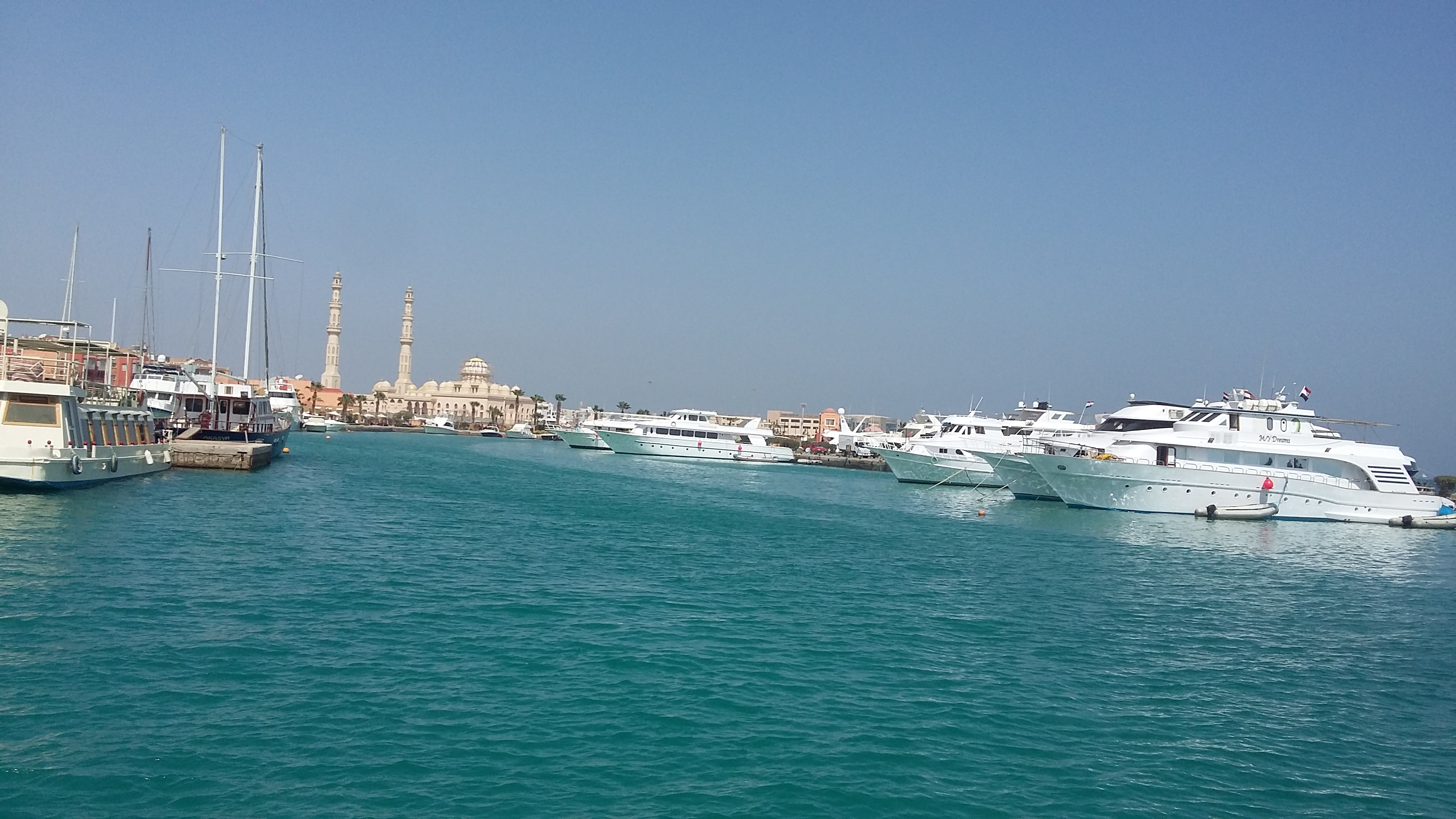 Przystań w Hurghadzie