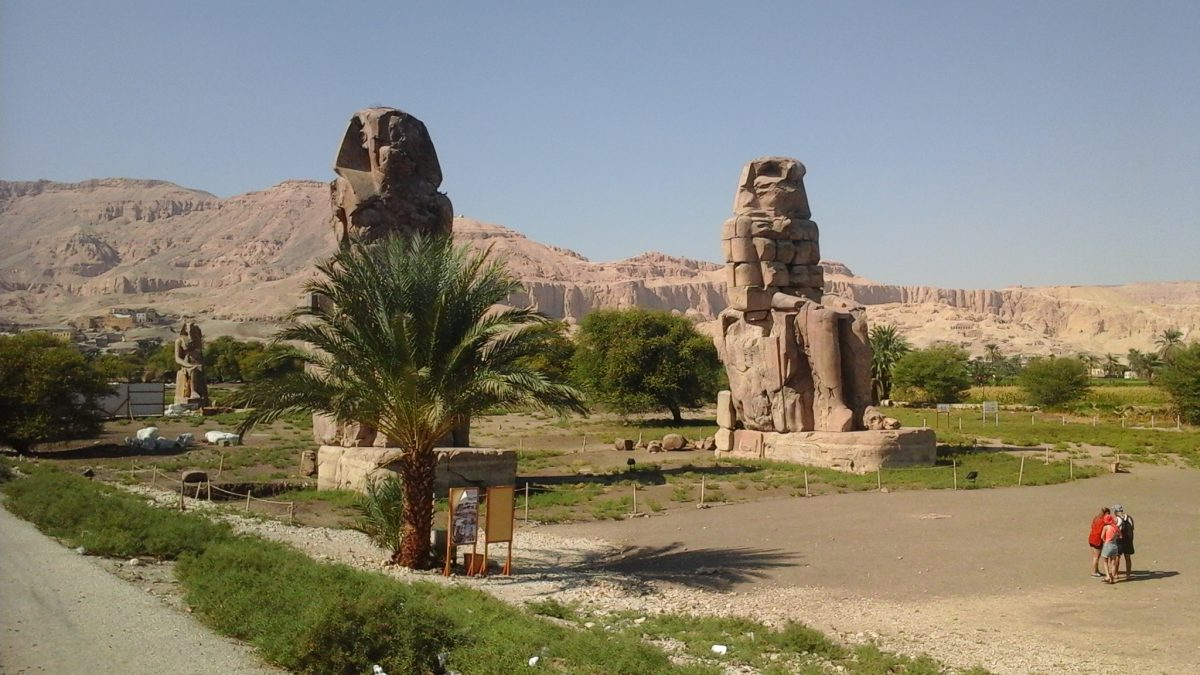 The temple of Amenhotep III