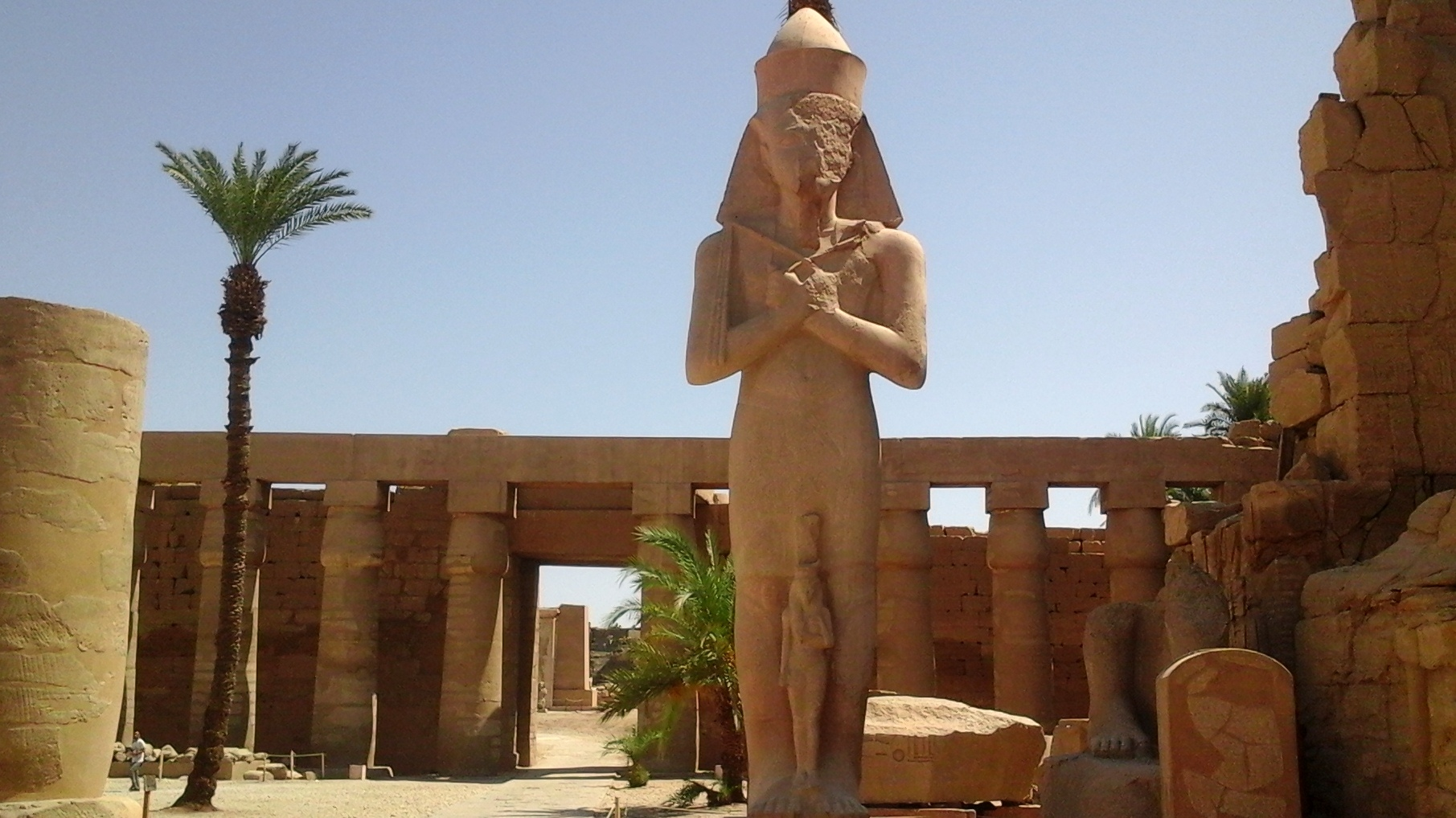 Temple of_karnak in Luxor
