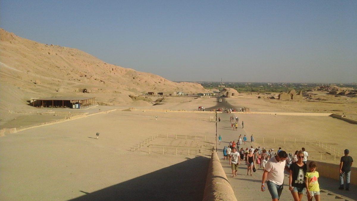 Temple of queen Hatshepsut in Luxor