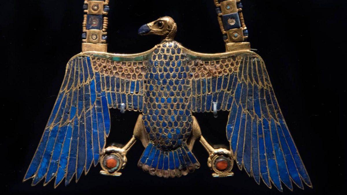 God Horus in Egyptian museum
