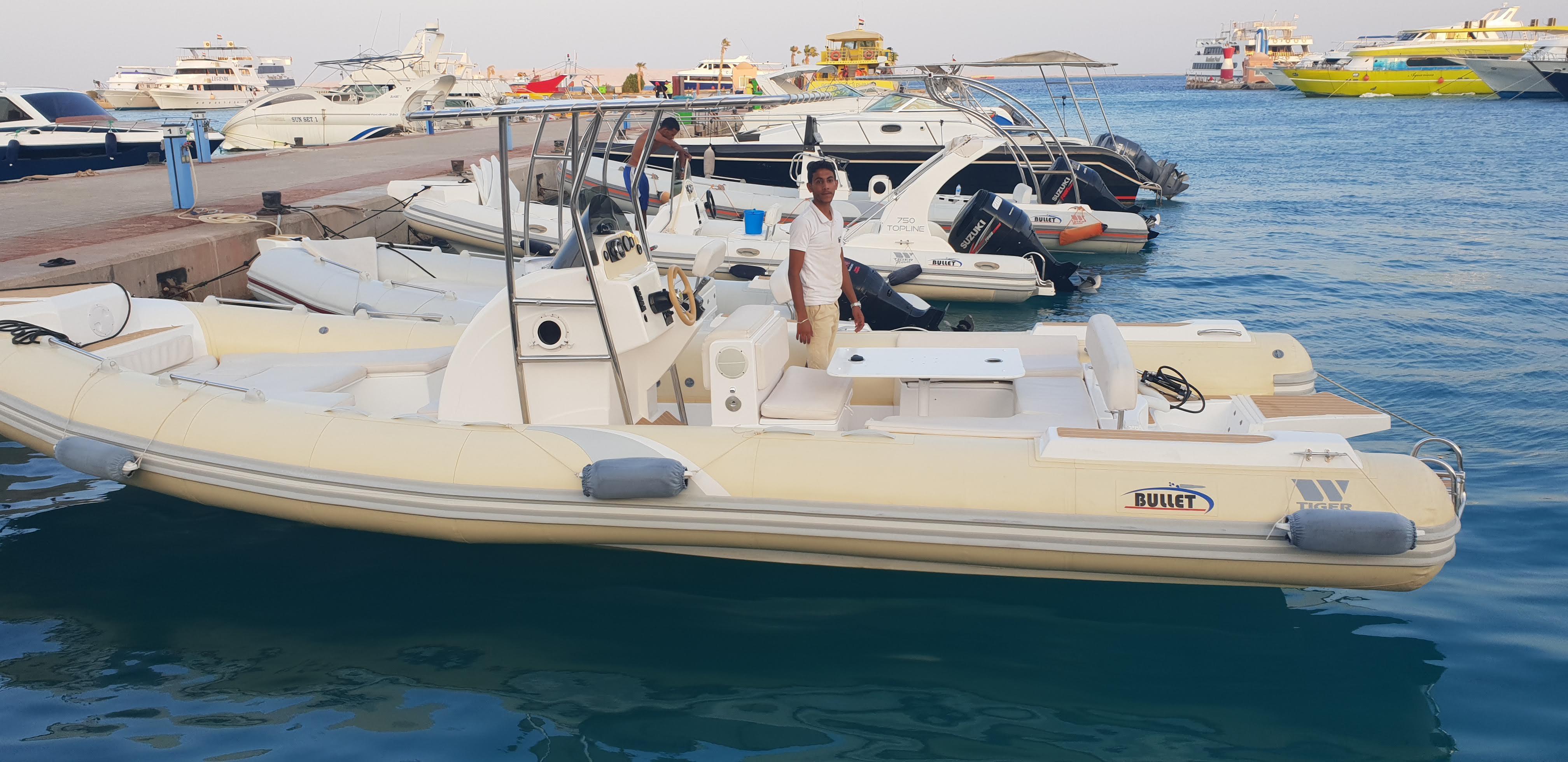 Private Speedboat to Orange Bay in Hurghada
