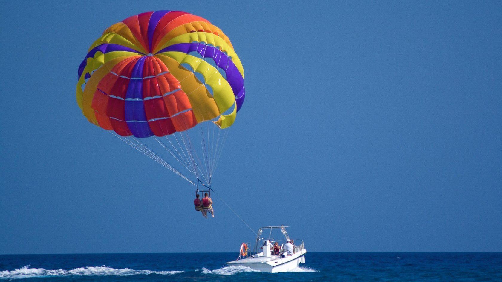 رحلة الإبحار المظلي شرم الشيخ