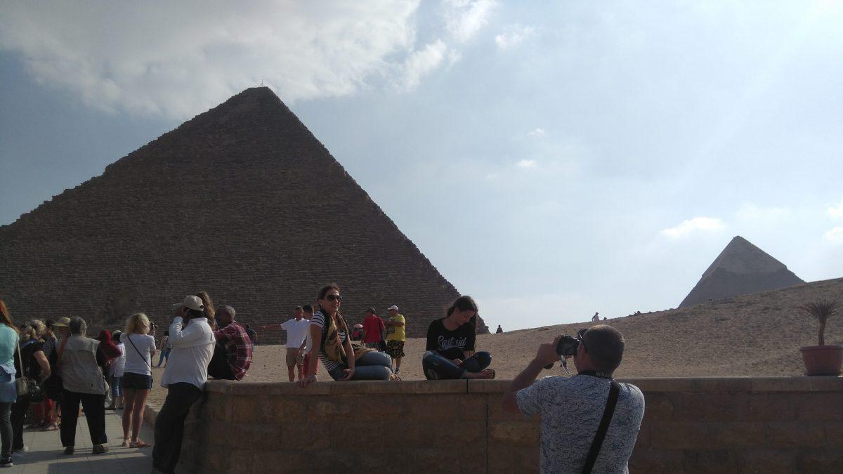 Поездка в пирамиды и Египетский музей в Каире