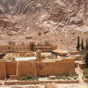 Ausflug zum Moses Berg von Kairo