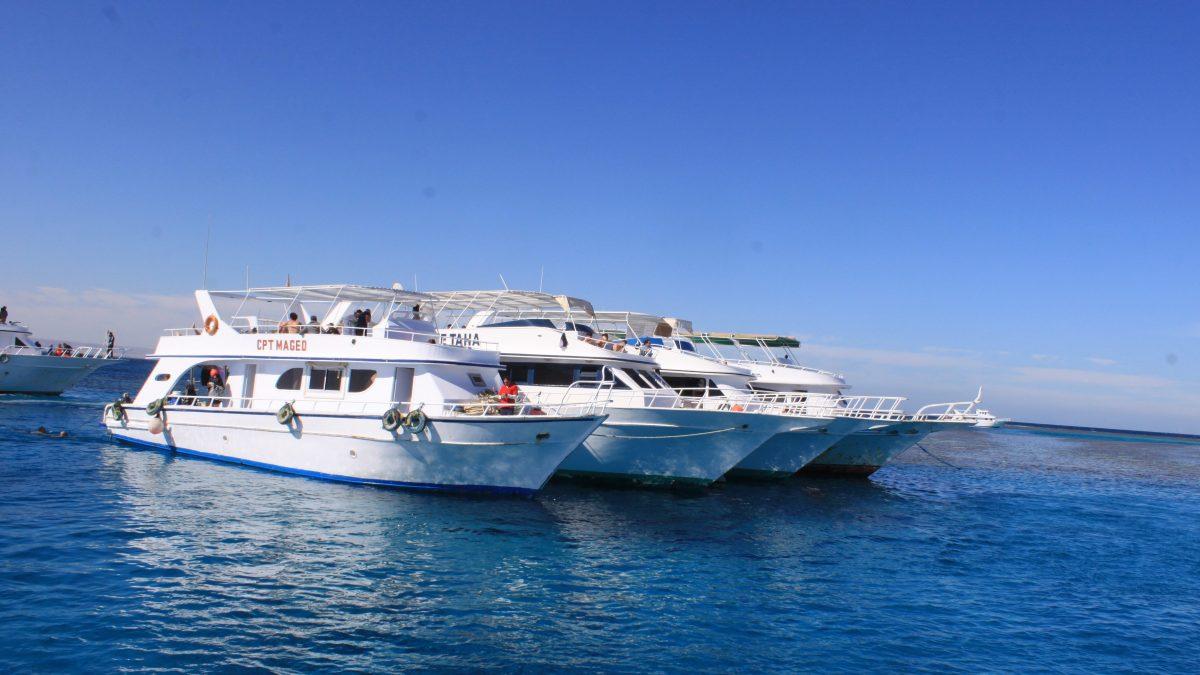 Excursiones marinas en Hurghada