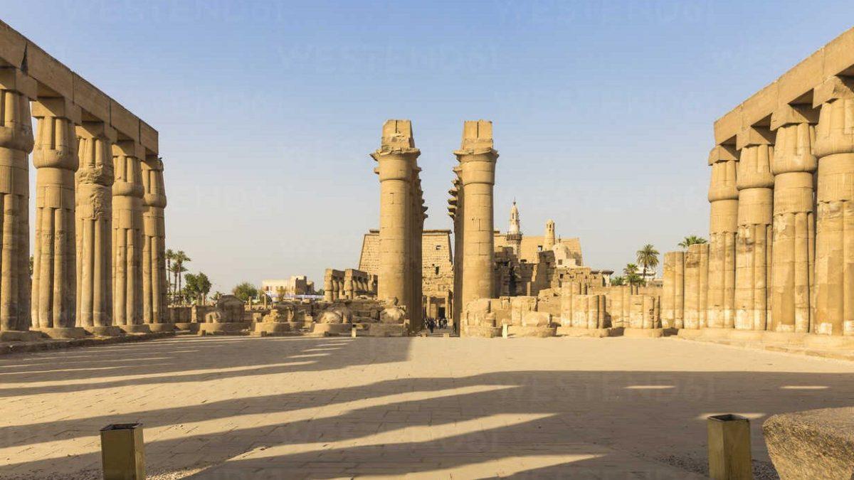 Ägyptischen Tempel