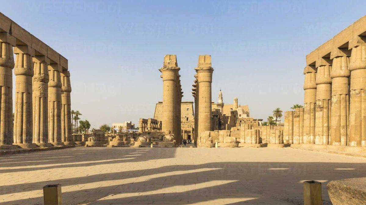 Forntida egyptiska tempel