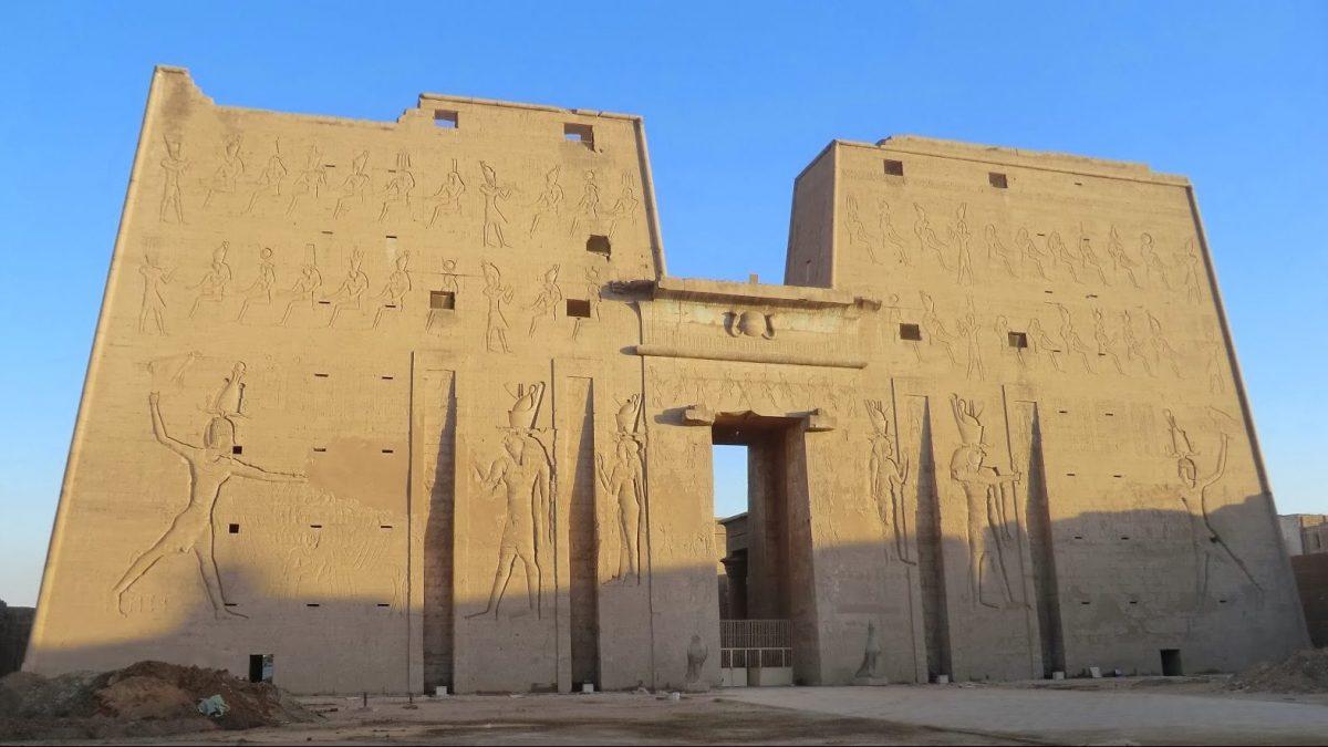Horustemplet vid Edfu