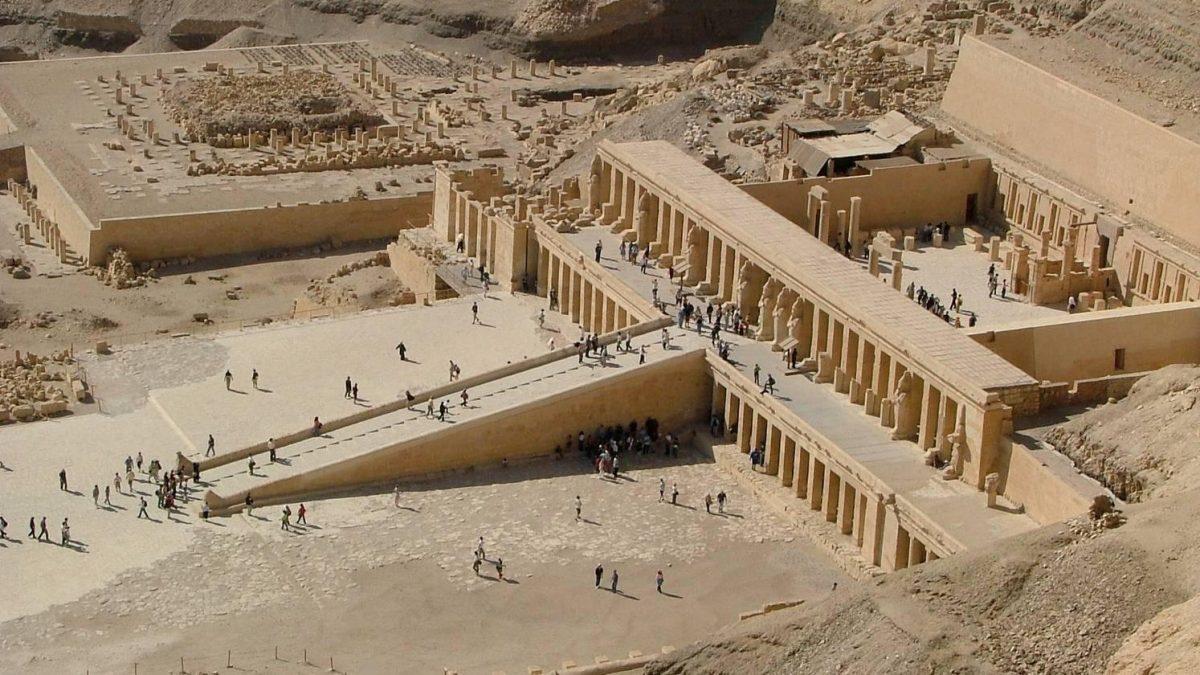 Komplex Deir el Bahari