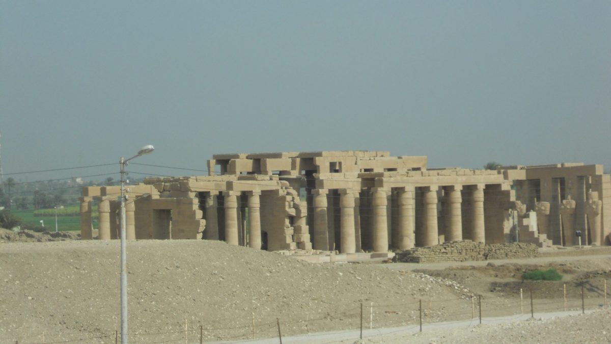 Chrám Ramesseum