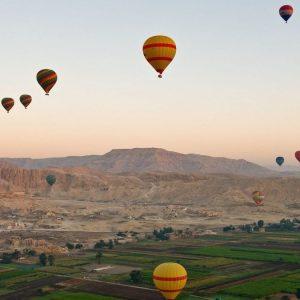 Heißluftballonfahrt Luxor