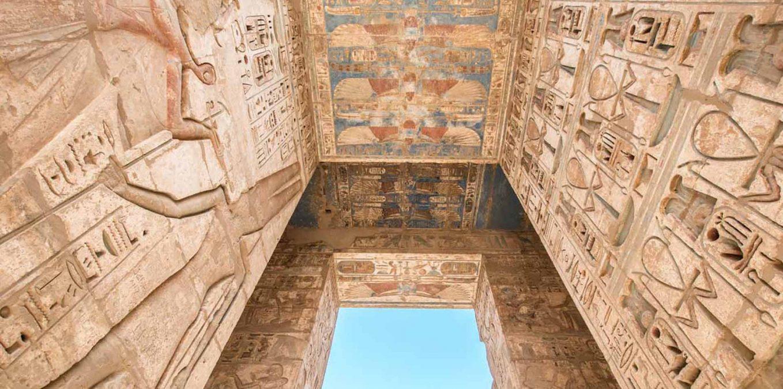 Medinet Habu templom