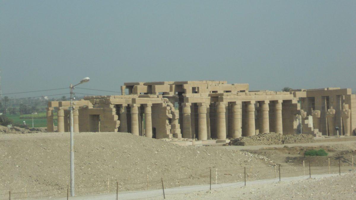 Ramesszeum templom