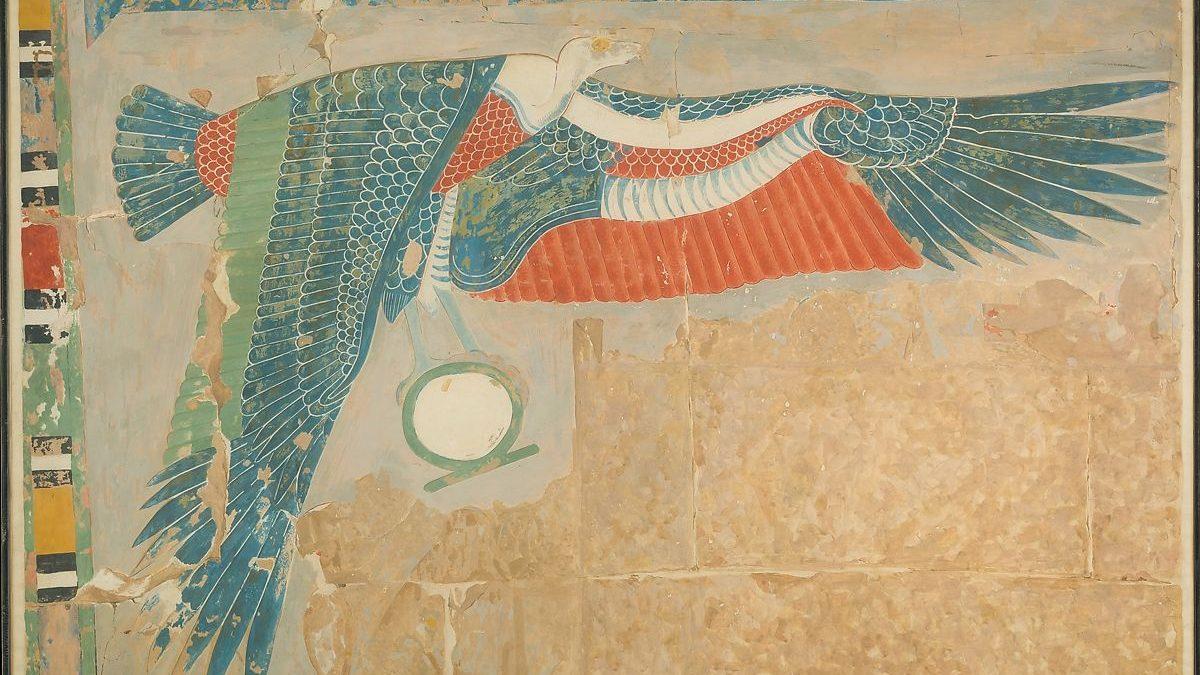 Gudinnan Nekhbet