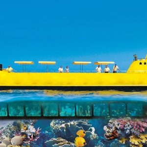 Halb U Boot Tour Hurghada