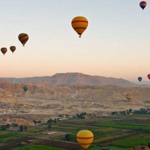 Luchtballonvaart Luxor