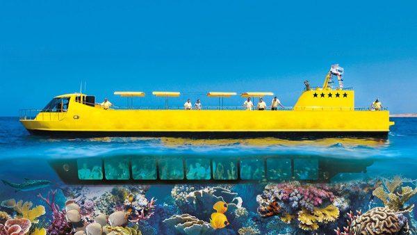 Prohlídka polo ponorky Hurghada